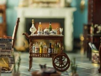 Antiker Barwagen